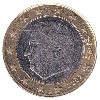 1 euro coin reverse