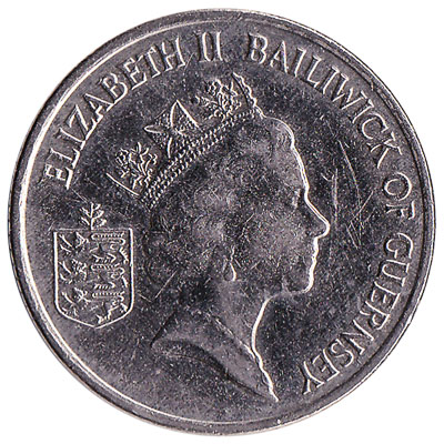 10 Pence coin Guernsey reverse accepted for exchange
