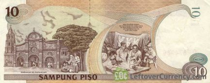10 Philippine Peso banknote - Mabini and Bonifacio reverse accepted for exchange