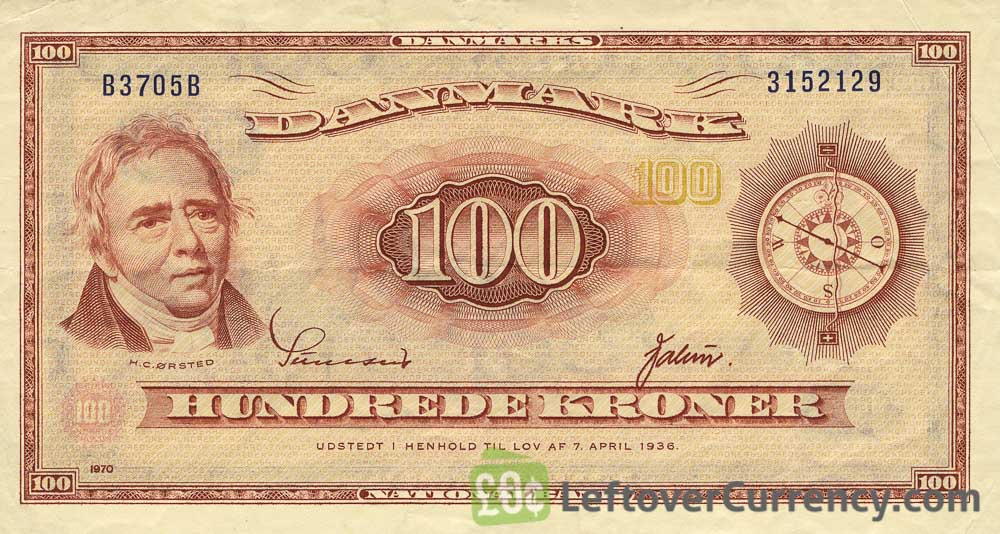 1000 Danish Kroner (Gyllembourg-Ehrensvard) - exchange yours