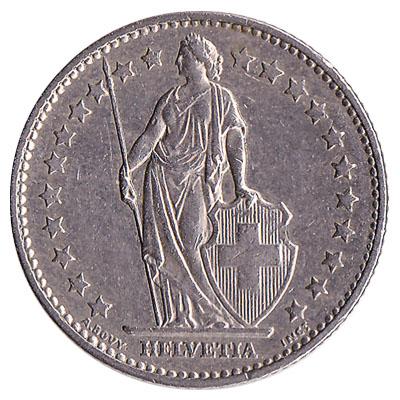 1 Swiss Franc Coin