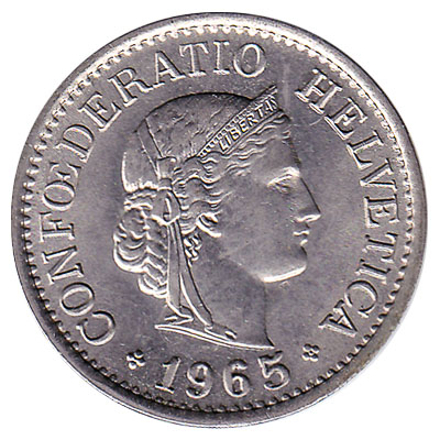 10 Rappen coin Switzerland reverse accepted for exchange