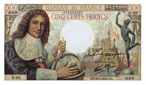 500 French Francs banknote - Jean-Baptiste Colbert