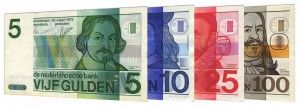 Dutch Guilder banknotes accepted for exchange