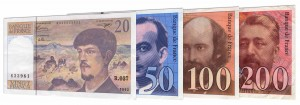 French Franc banknotes accepted for exchange