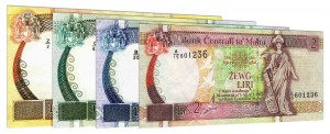 Maltese Lire banknotes accepted for exchange