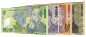 old Romanian Lei banknotes accepted for exchange