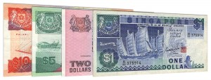 withdrawn Singapore Dollar banknotes accepted for exchange