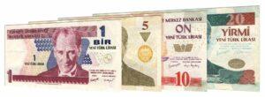 new Turkish lira 2005-2008