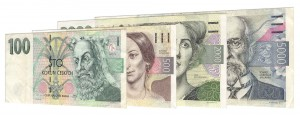 current Czech Koruna banknotes accepted for exchange