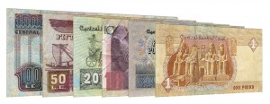 current Egyptian Pound banknotes accepted for exchange