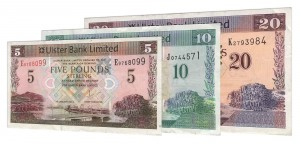 current Ulster Bank Limited banknotes accepted for exchange