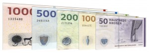 Current Danish kroner banknotes accepted for exchange