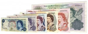 Current Manx Pound banknotes accepted for exchange