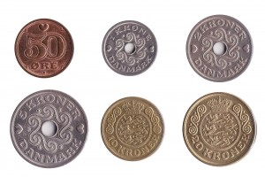 Danish Kroner coins accepted for exchange