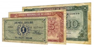 Demonetized Belgian franc banknotes accepted for exchange