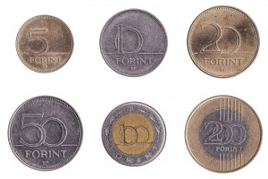 Hungarian Forint coins accepted for exchange