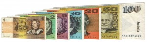 Withdrawn Australian dollar banknotes accepted for exchange