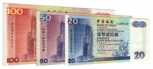 Withdrawn Bank of China Hong Kong dollar banknotes accepted for exchange
