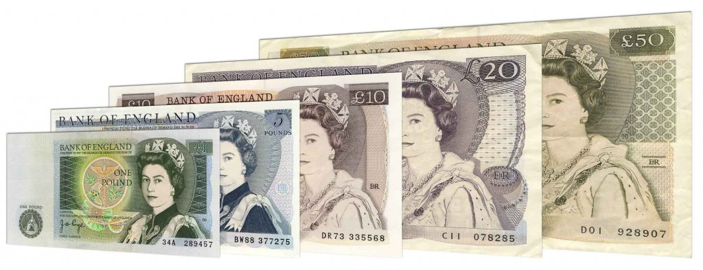 Withdrawn Bank of England banknotes accepted for exchange
