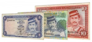 Withdrawn Brunei dollar banknotes accepted for exchange