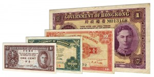 Withdrawn Government of Hong Kong dollar banknotes