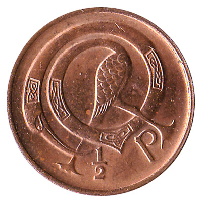 0.5 Pence coin Ireland