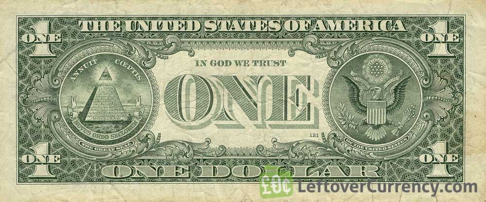 1 American Dollar Banknote