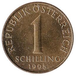 1 Austrian Schilling coin