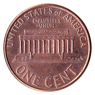 1 Cent Coin United States Dollar Penny