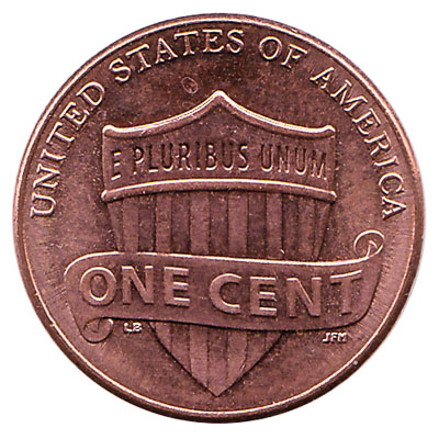 1 Cent coin United States (Union shield)