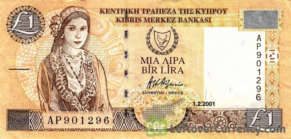 1 Cypriot Pound banknote (Kato Drys)