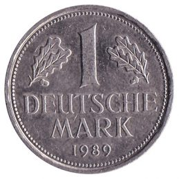 1 Deutsche Mark coin