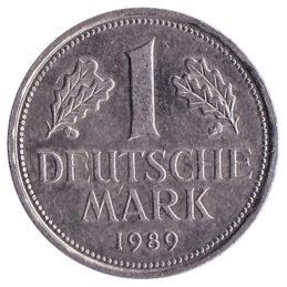 1 Deutsche Mark coin
