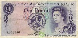 1 Isle of Man Pound banknote (Tynwald Hill)