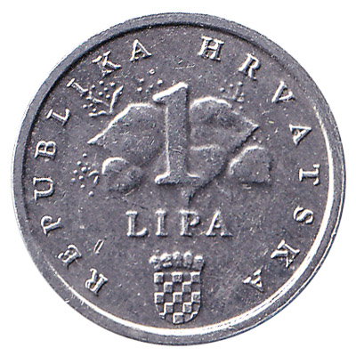 1 Lipa coin Croatia
