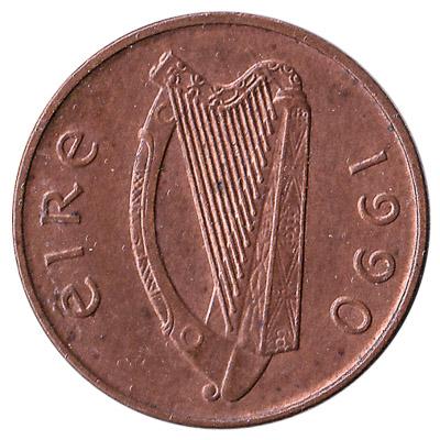 1 Penny coin Ireland