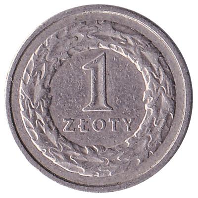 1 Polish Zloty coin