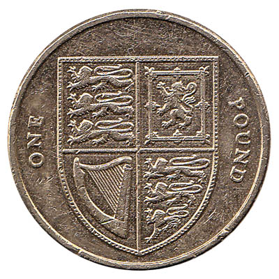 1 Pound Sterling coin Great Britain