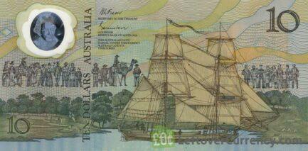 10 Australian Dollars banknote (Aboriginal youth)