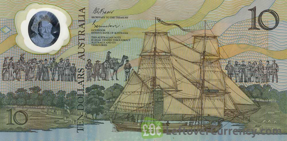 10 Australian Dollars banknote (Aboriginal youth)