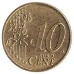 10 cents Euro coin