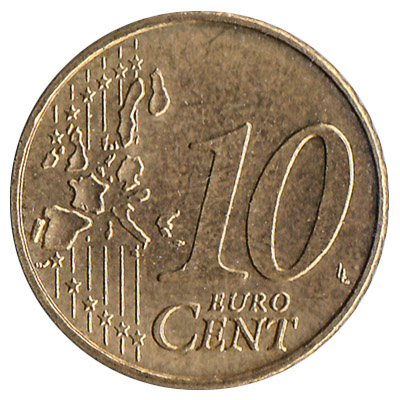 Add To Wallet 10 Cents Euro Coin