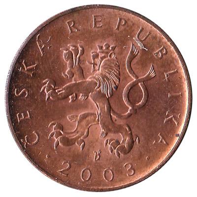 10 Czech Koruna coin