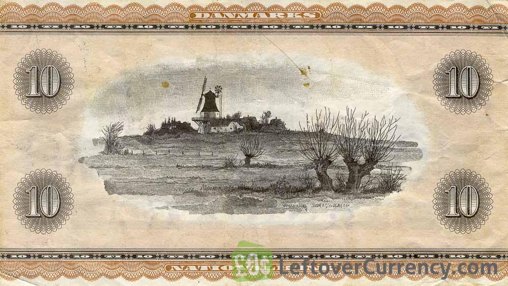 10 Danish Kroner banknote (Hans Christian Andersen)