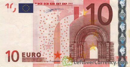 10 Euros banknote (First series)