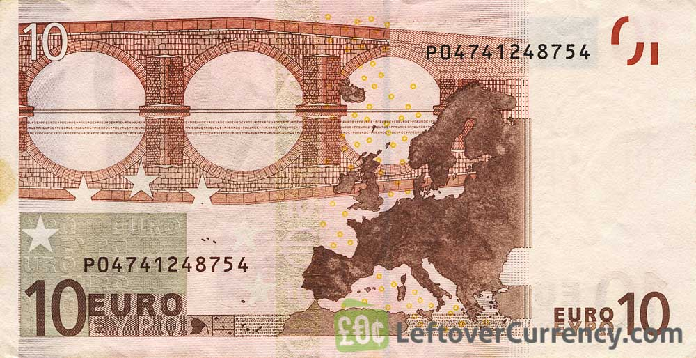 10 Euros banknote (First series)