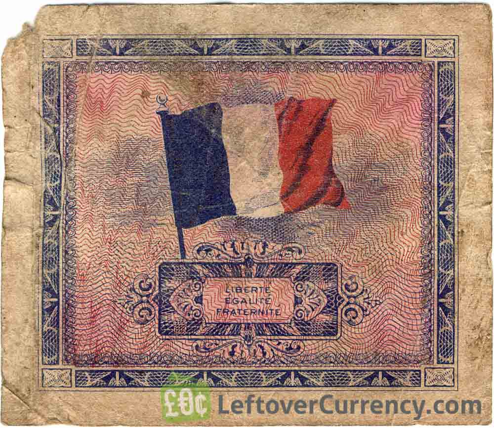 10 French Francs banknote (Allied Military Currency 1944)