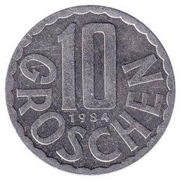 10 Groschen coin Austria