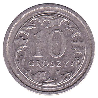 10 Groschen coin Poland